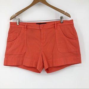 Calvin Klein Chino Shorts Orange Size 14 Cotton